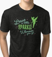 Leave a Little Sparkle Wherever You Go Tri-blend T-Shirt