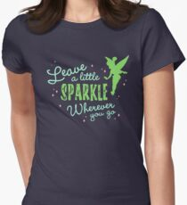 Leave a Little Sparkle Wherever You Go Women's Fitted T-Shirt