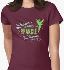 Leave a Little Sparkle Wherever You Go Womens Fitted T-Shirt
