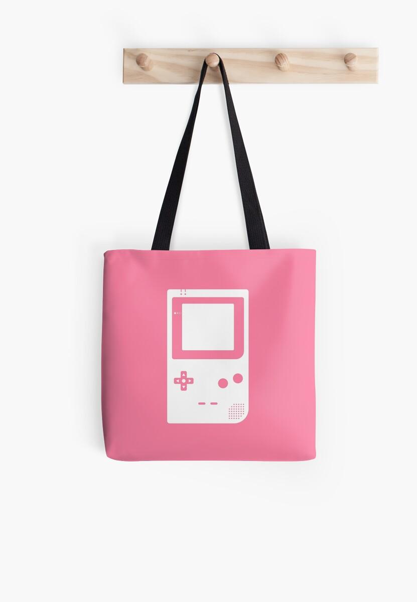 Minimal Gameboy pocket pink by animinimal