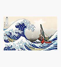 The Legend of Zelda - Hokusai Wave Photographic Print