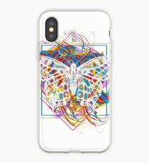Magic butterfly iPhone Case