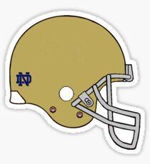 Notre Dame Helmet Sticker