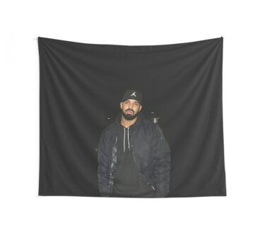 Drake Wall Tapestry