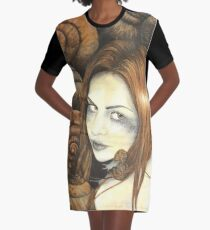 The Snail Bride Graphic T-Shirt Dress