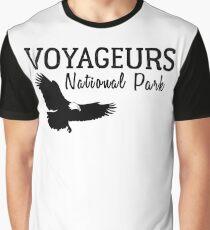 VOYAGEURS NATIONAL PARK TRAVEL MINNESOTA STATE PARK  Graphic T-Shirt