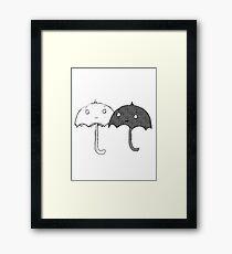 Sarah & Duck - Umbrella Framed Print