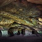 Caves on Frodhsam hill .  by Jon Baxter