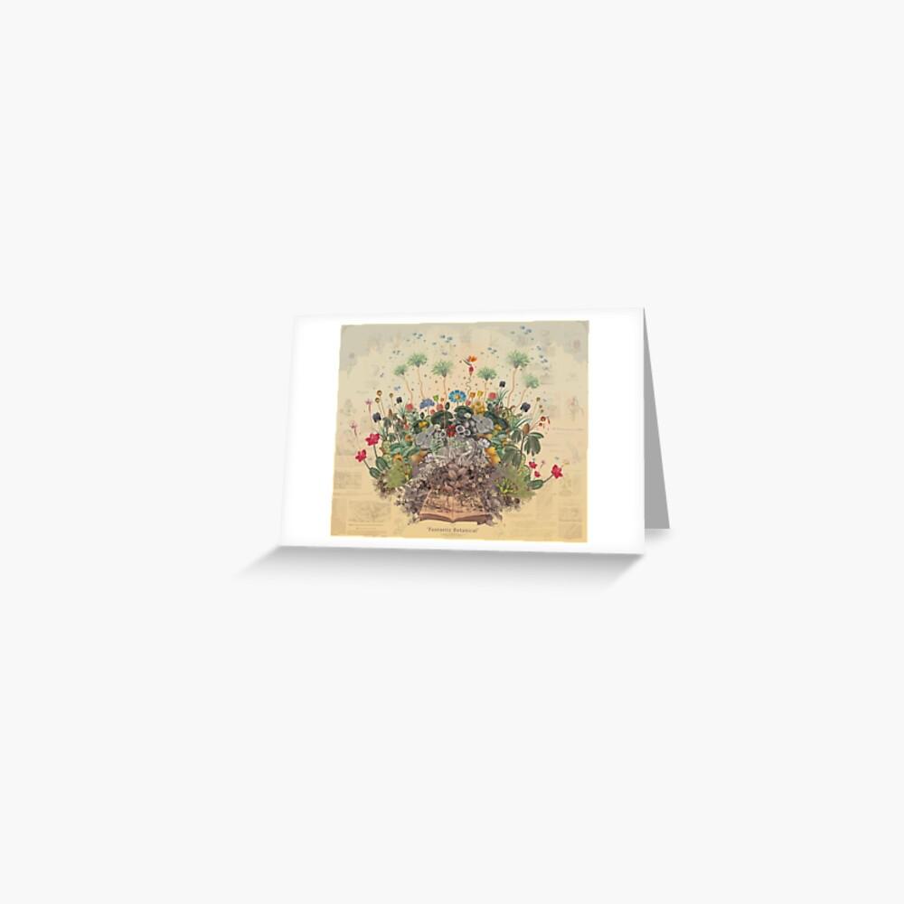 FANTASTIC BOTANICAL Greeting Card