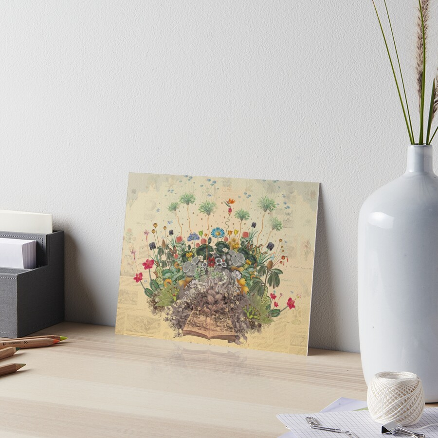 FANTASTIC BOTANICAL Art Board Print