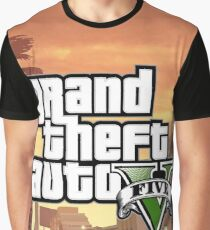 GTA V Graphic T-Shirt