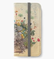 FANTASTISCHES BOTANISCHES iPhone Flip-Case/Hülle/Skin
