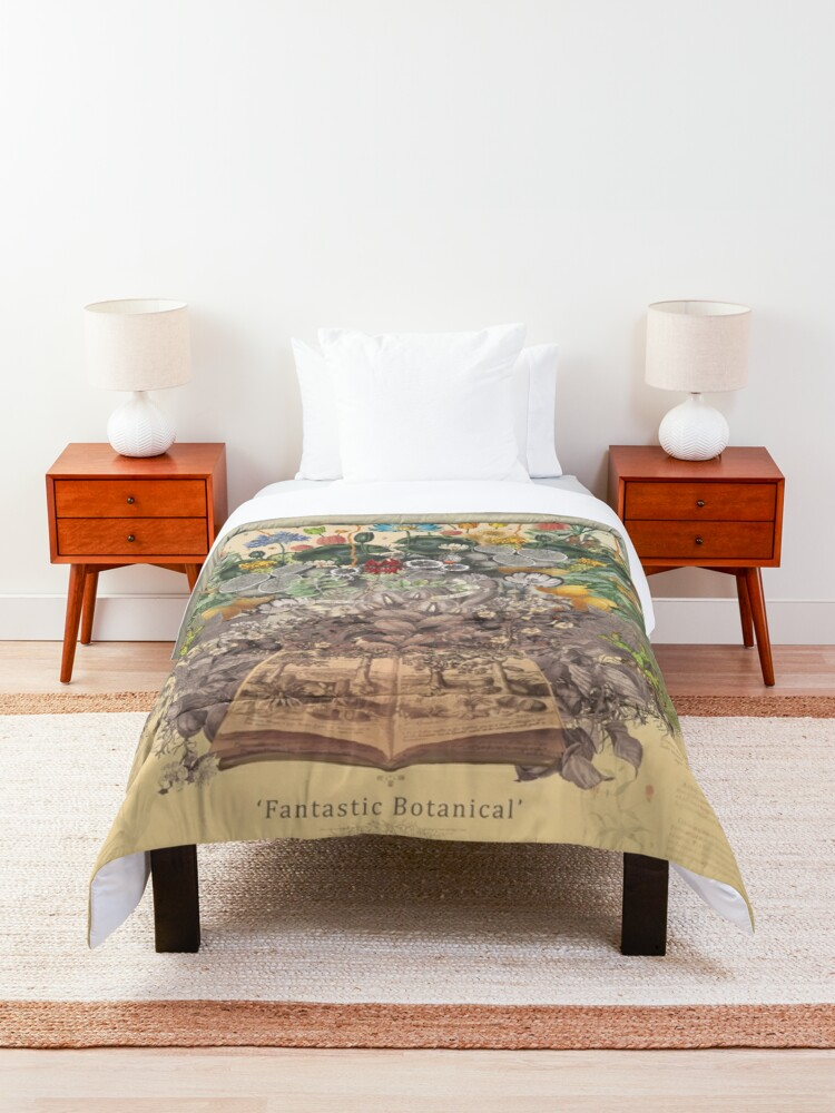 Alternate view of FANTASTIC BOTANICAL Comforter