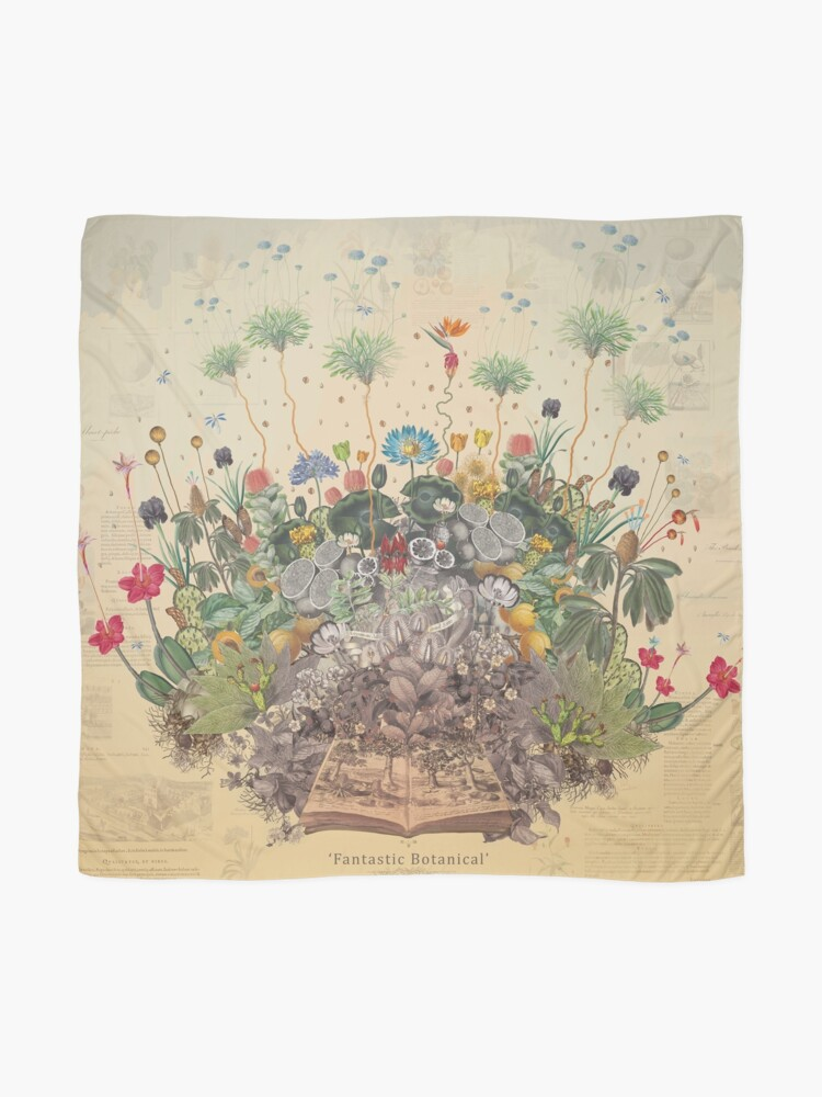Alternate view of FANTASTIC BOTANICAL Scarf