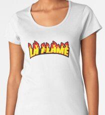 La Flame Women's Premium T-Shirt