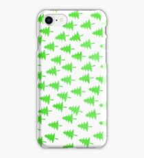 christmas tree pattern iPhone Case/Skin