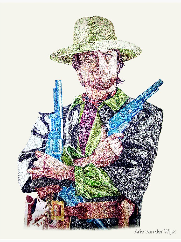 Clint Eastwood by Aart