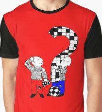 Cross words t-design Graphic T-Shirt