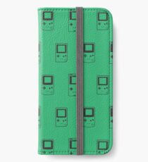 Minimal Gameboys (gorgeous green) iPhone Wallet