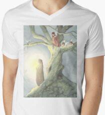 Caught a Wisp Men's V-Neck T-Shirt