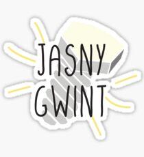 JASNY GWINT - Polish language Sticker