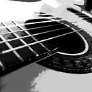 six string b&w by SNAPPYDAVE