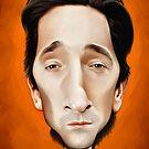 Adrien Brody caricature by jordygraph