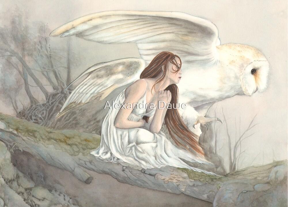 On Silent Wings by alexandradawe