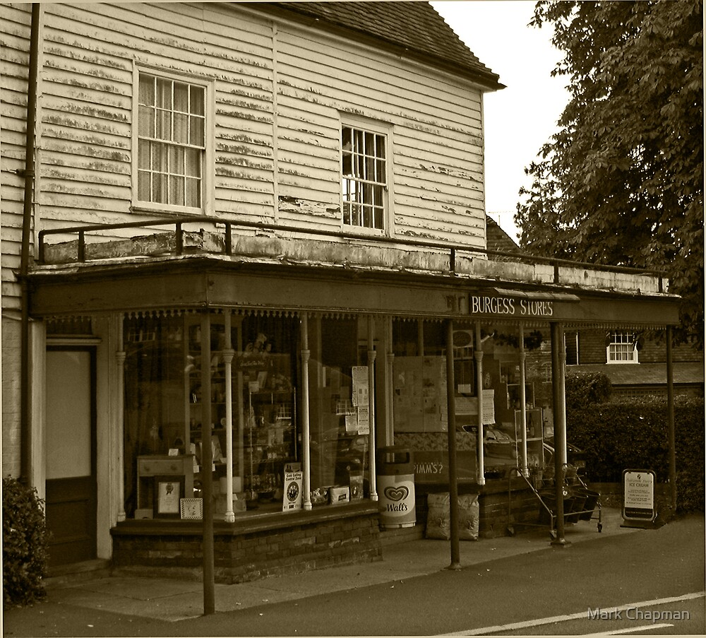 The Village Store by Mark Chapman