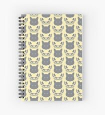 Ragdoll Cat Wallpaper - Cream Spiral Notebook