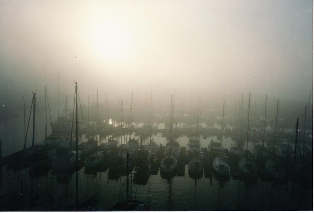 Harbor Mist by Gary  Crandall
