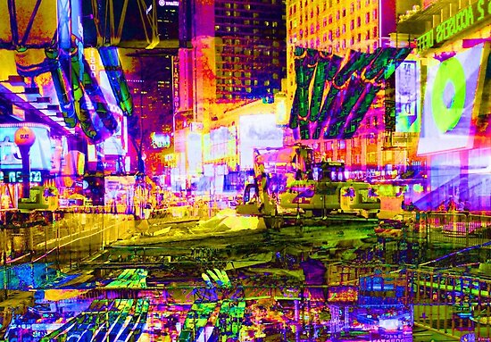night times square by tomdonald
