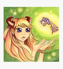The Faun Valencia and The Fairy Queen Photographic Print