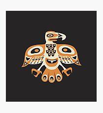 Bird - totem pole style Photographic Print