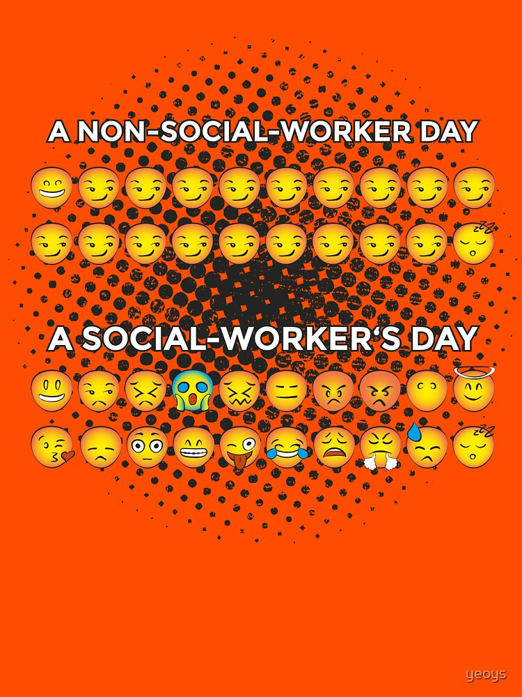 Non Social Worker Day VS. Social Worker's Day Smileys von yeoys