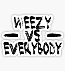 weezy baby Sticker