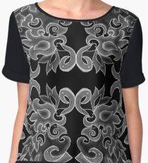 Flamingo design 3 Women's Chiffon Top