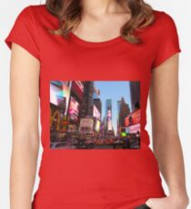 NYC Broadway Women's Fitted Scoop T-Shirt