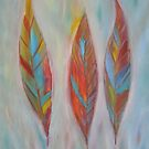 """""""Feathers"""" (a whimsical colour bomb) by Anita Revel"""