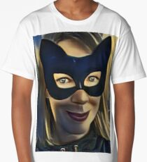 Cat Woman  Long T-Shirt
