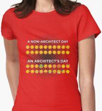 Non Architect Day VS. Architect's Day :-) Smiley T-Shirt