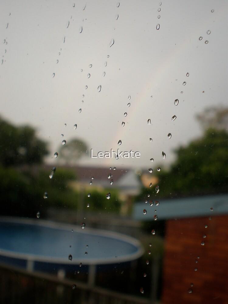 Rainy Window by Leahkate