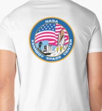 SPACE, NASA, Kennedy Space Center, Logo, Patch T-Shirt