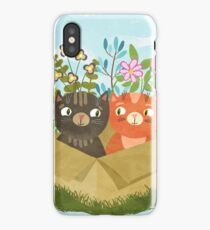 A Carton Of Cute Kitties iPhone Case/Skin