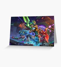 League of legends arcade Greeting Card