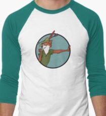 Robin Hood Baseballshirt mit 3/4-Arm