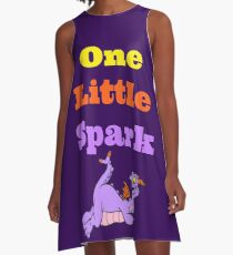 Figment One Little Spark Laying Down A-Line Dress