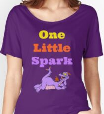 Figment One Little Spark Laying Down Women's Relaxed Fit T-Shirt