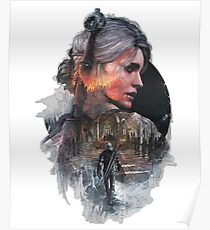 The Witcher Ciri Poster