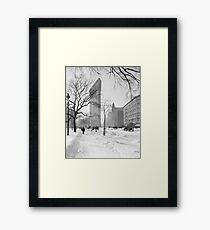 Vintage Flatiron Building Photo, 1905, New York City Framed Print